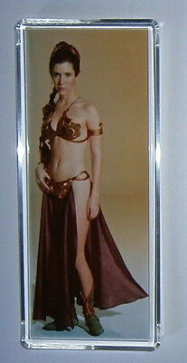 Star Wars Princess Leia Carrie Fisher movie poster Extra Large fridge magnet New