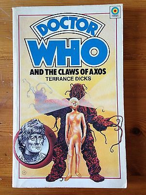 DOCTOR WHO and the Claws of Axos - Target 1ST Edition P/B