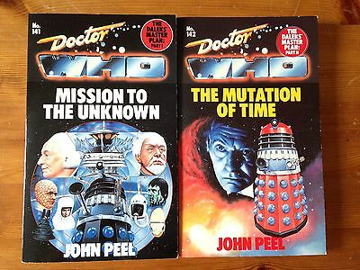 Doctor Who The Daleks Masterplan - The Mutation of Time / Mission to the Unknown