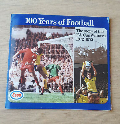 Esso 100 Years of Football FA Cup 1872/1972 Coin Collection - Complete Set