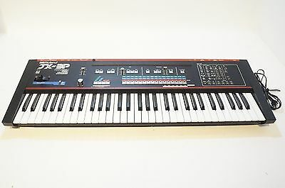 Roland JX-3P Vintage Polyphonic Analog Synthesizer Keyboard AS-IS