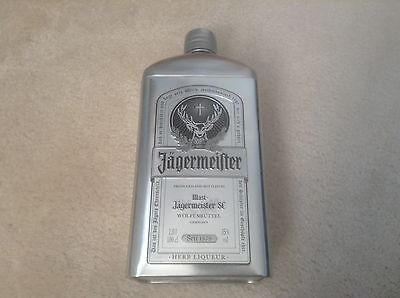 JAGERMEISTER 1Litre Bottle holder Silver coloured