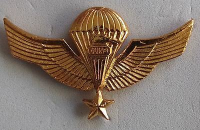 Chile Army Ejercito Pin Wings Parachute star Guias