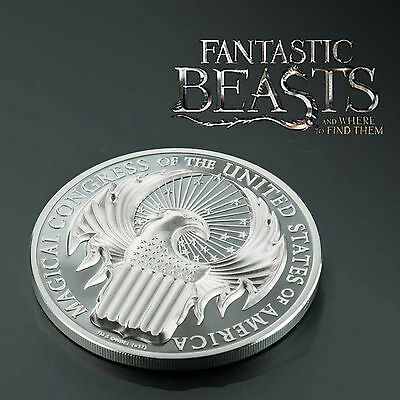 2017 FANTASTIC BEASTS MAGICAL CONGRESS 1oz PROOF SILVER COIN
