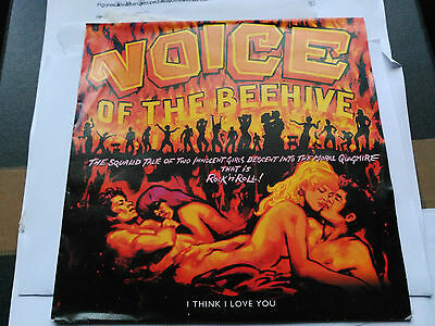 Single Voice Of The Beehive - I Think I Love You - London Germany 1991 Vg+