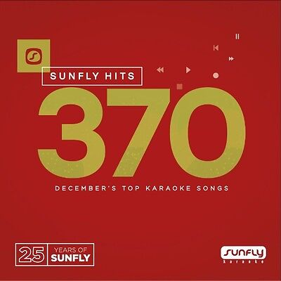 Sunfly Karaoke Hits - SF370 (December 2016) - FEAT Little Mix, Louisa Johnson