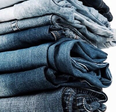 14 Pair Women's JEANS - Wholesale Lot Clothing-Assorted Sizes-Resale Inventory
