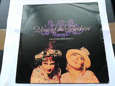 Single Voice Of The Beehive -Monsters And Angels - London Germany 1991 Vg+