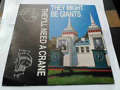 Single They Might Be Giants - They'll Need A Crane - Spain 1989 Vg+/nm