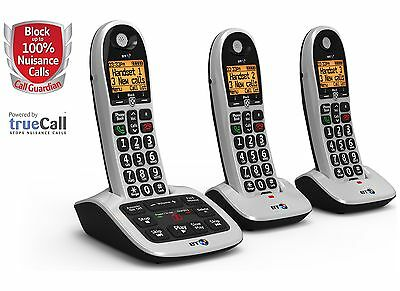 BT Big Button 4600 Telephone with Answer Machine - Triple -From Argos on ebay