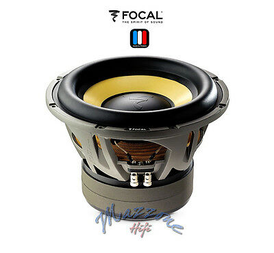 "FOCAL K2 POWER E 25 KX SUB SUBWOOFER 10"" 25cm 1200 Watt DUAL 4ohm MADE IN FRANCE"