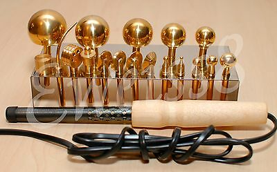 18 High Quality Professional Millinery Flower Making Tools Brass+Soldering iron