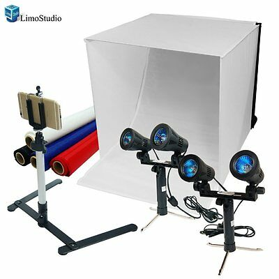 "LimoStudio Photography Table Top Photo Tent Kit  24"" Photo Light Box AGG1069"