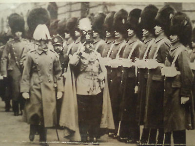 1928 Real Assoc. Press Photo King of Afghanistan and King George of England