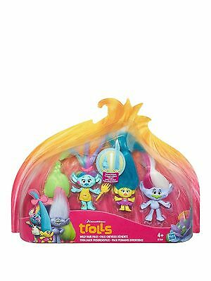 Trolls Small Town Multi Pack -wild hair pack New