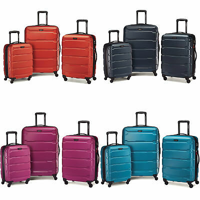 Samsonite Omni PC 3 Piece Set Hardside Spinner Spinner 20 24 28