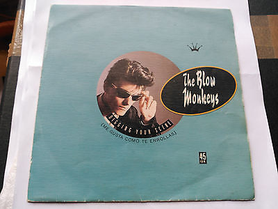 Single Promo The Blow Monkeys - Digging Your Scene - Rca Spain 1986 Vg+