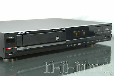 ►Grundig Cd 8150◄ Lettore Cd Player  Cdm4 Tda1543 Con Manuale Vintage Top !