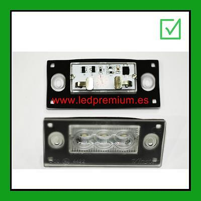 2x LED LICENSE NUMBER PLATE LIGHT LAND ROVER DISCOVERY 3 MATRICULA TARGA PLAQUE
