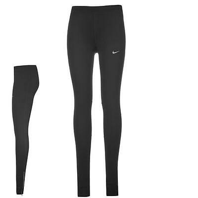 Nike Essential  Running Tights Ladies Fitness Sports Black Size S