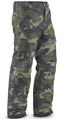 Mens Insulated/waterproof Ski Snow Board Cargo Pants Camouflage M L Xl 2Xl New!
