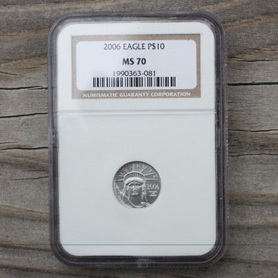 2006 $10 Platinum Eagle NGC MS70  ***Rev. Tye's Coin Stache*** #3081220