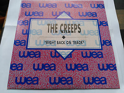 Single Promo The Creeps - Right Back On Track - Wea Spain 1990 Vg+/nm