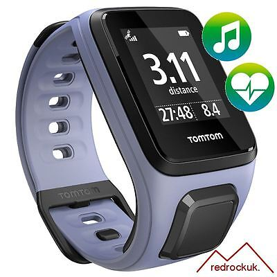 TomTom Spark - Cardio - Music - Purple - Small GPS Multi-Sport Fitness Watch