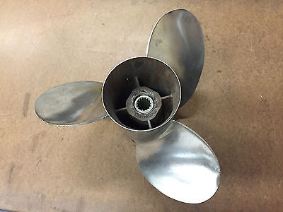* Quicksilver Marine 48-13704- 23 P Stainless Propeller SS
