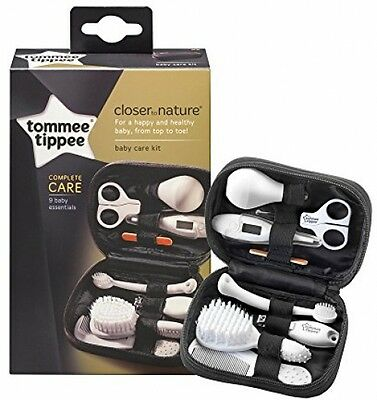 Tommee Tippee Closer To Nature Healthcare Kit Baby Nails Hair Teeth Care Set NEW