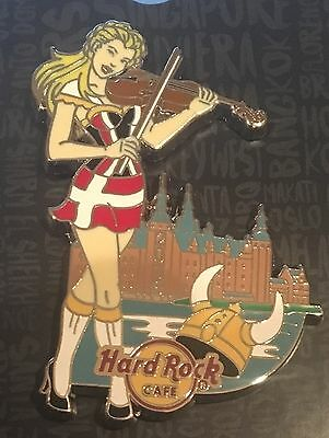 Hard Rock Cafe Online 2016 Sexy Pin Up Girl June Denmark Pin Le50