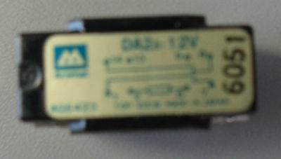 Aromat Da2A-12V Reed Relay Lot Of 2