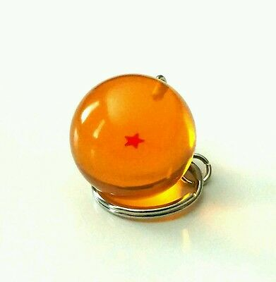 New Dragon Ball Z - 1 Star Keychain keyring 3D! Japanese anime
