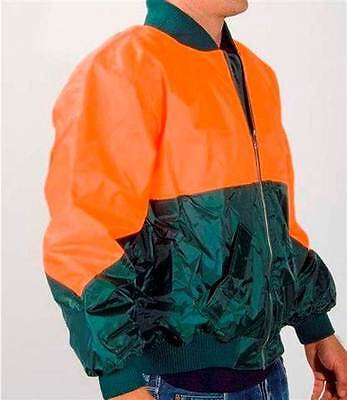Worksense Hi Vis Flying Jacket with Quilted Padded Lining Size XL 105cm