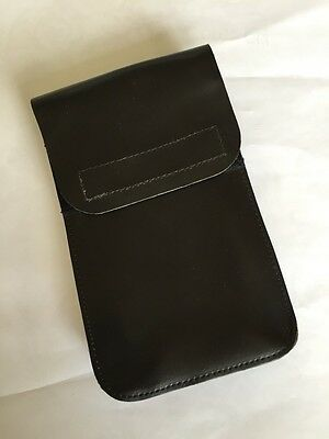 """Ex Police Leather Document Pouch For 2"""" Kit Belt."""