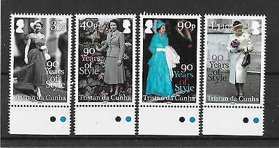 Tristan da Cunha 2016 NEW ISSUE 90 Years of Style  UMM
