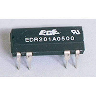 Excel Cell Electronics EDR201A05Z Relay Dip SPST 5VDC 1A 500 Ohm Coil 2 2 pcs