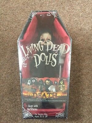 Death Four Horseman Of The Apocalypse,Living Dead Doll ,Mezco New And Sealed