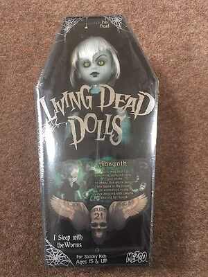 Absynth Living Dead Doll ,Mezco New And Sealed