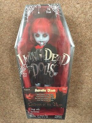 Sabbatha Blood Living Dead Doll ,Mezco New And Sealed