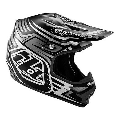 Troy Lee Designs – Air Scratch Black Helmet - Large