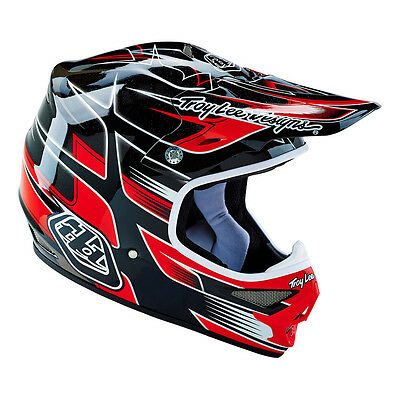 Troy Lee Designs – Air Starbreak Black/Red Helmet - X-Large