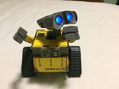 WALL E Disney Thinkway Remote Control Robot Tested Works Lights Sound NO REMOTE
