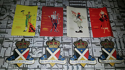SABENA Belgian World Airlines - Set of Luggage ID Stickers/Labels