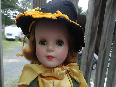 """Vintage 17"""" 1950's Annie Oakley Jointed Sweet sue Charchter Doll"""