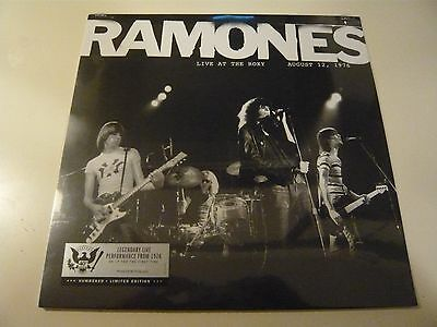 Ramones Live At The Roxy 8/12/76 Sealed LP Vinyl Record Store Day 2016 + Bag