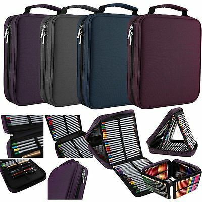 Handy Wareable Oxford Pencil Case For Colored Pencils - 120 Slot Pencil Holder