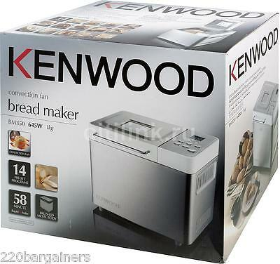 Kenwood 220/240 Volt Bread Maker for Europe Asia - 220v Voltage Breadmaker