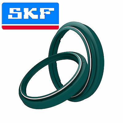 SKF Fork Oil Seal & Dust Wiper Green For 2003-2015 KTM 450 EXC Six Days