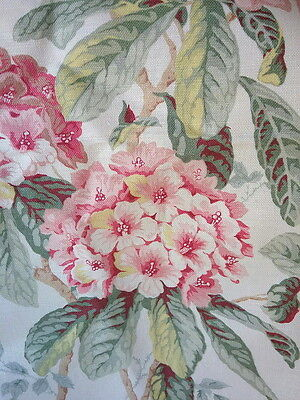 2.15m~Vintage~Linen~COLEFAX & FOWLER~French~Country~Upholstery~Fabric~Material